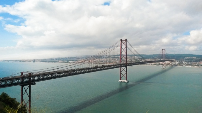 Picture of the Ponte 25 de Abril Bridge