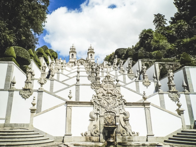 stairs of the Bom Jesus do Monte