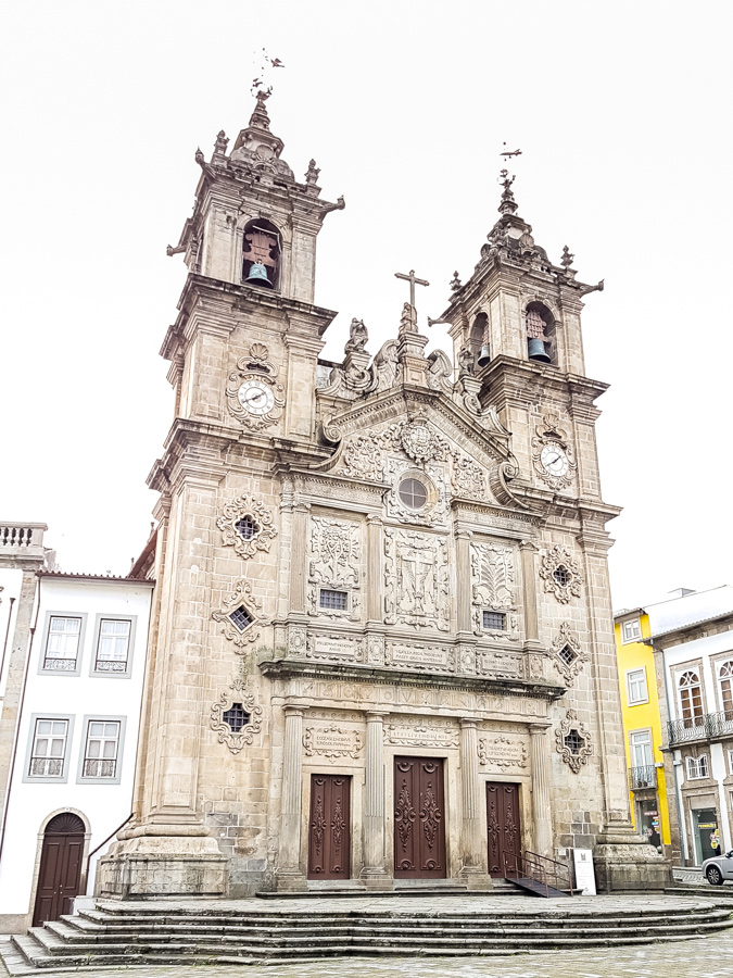 a old church in braga